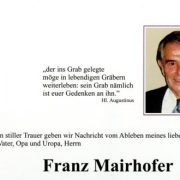 Franz Mairhofer